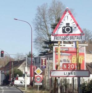 """Signalement du danger aux radars : soutien de l'association """"A10 Gratuite"""""""