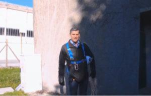 Visite du château d'eau de l'Autodrome à Linas