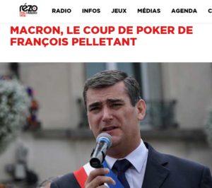 Pelletant – mon interview de soutien à E.Macron sur Radio Rézo