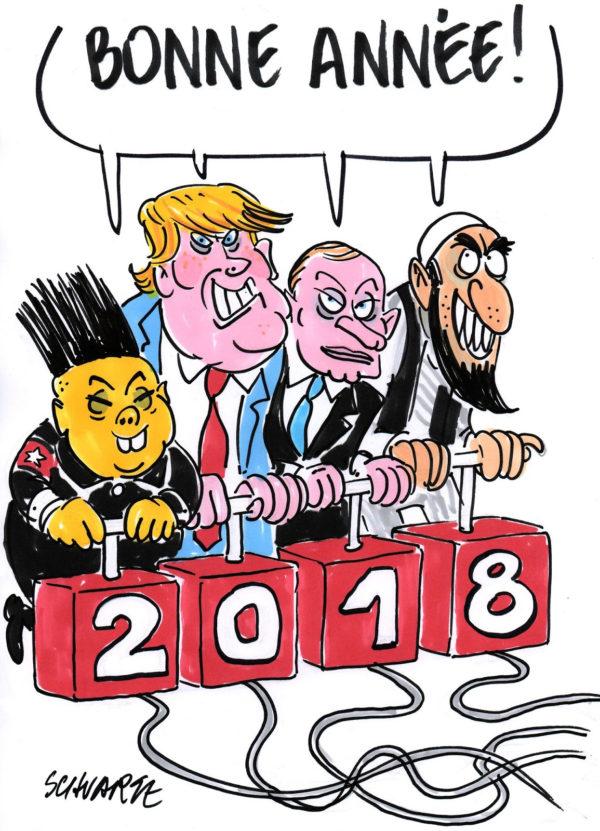 les 1ers dessins de presse de 2018