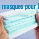 1000 masques pour Linas